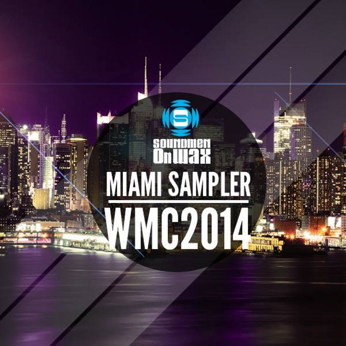 Miami Sampler WMC 2014 Various Artists CD cover