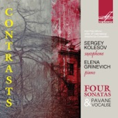 Saxophone Sonata in C-Sharp Major: I. Trés modéré - Expressif (Live) artwork