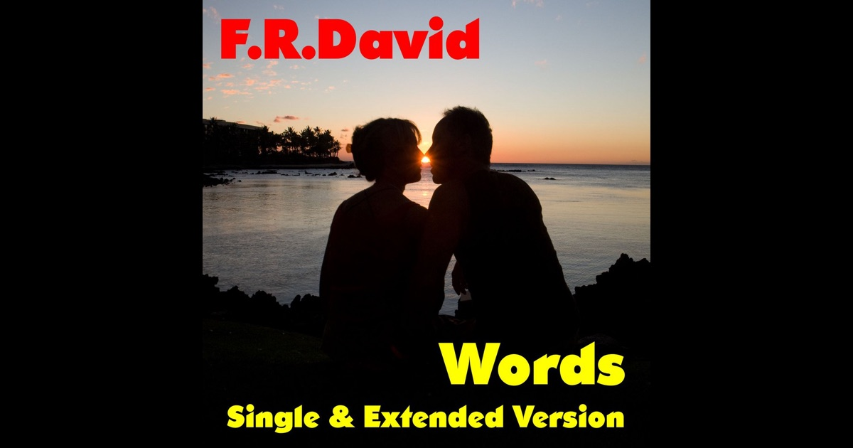 Words single di f r david su apple music for Forno elettrico david progress prezzo