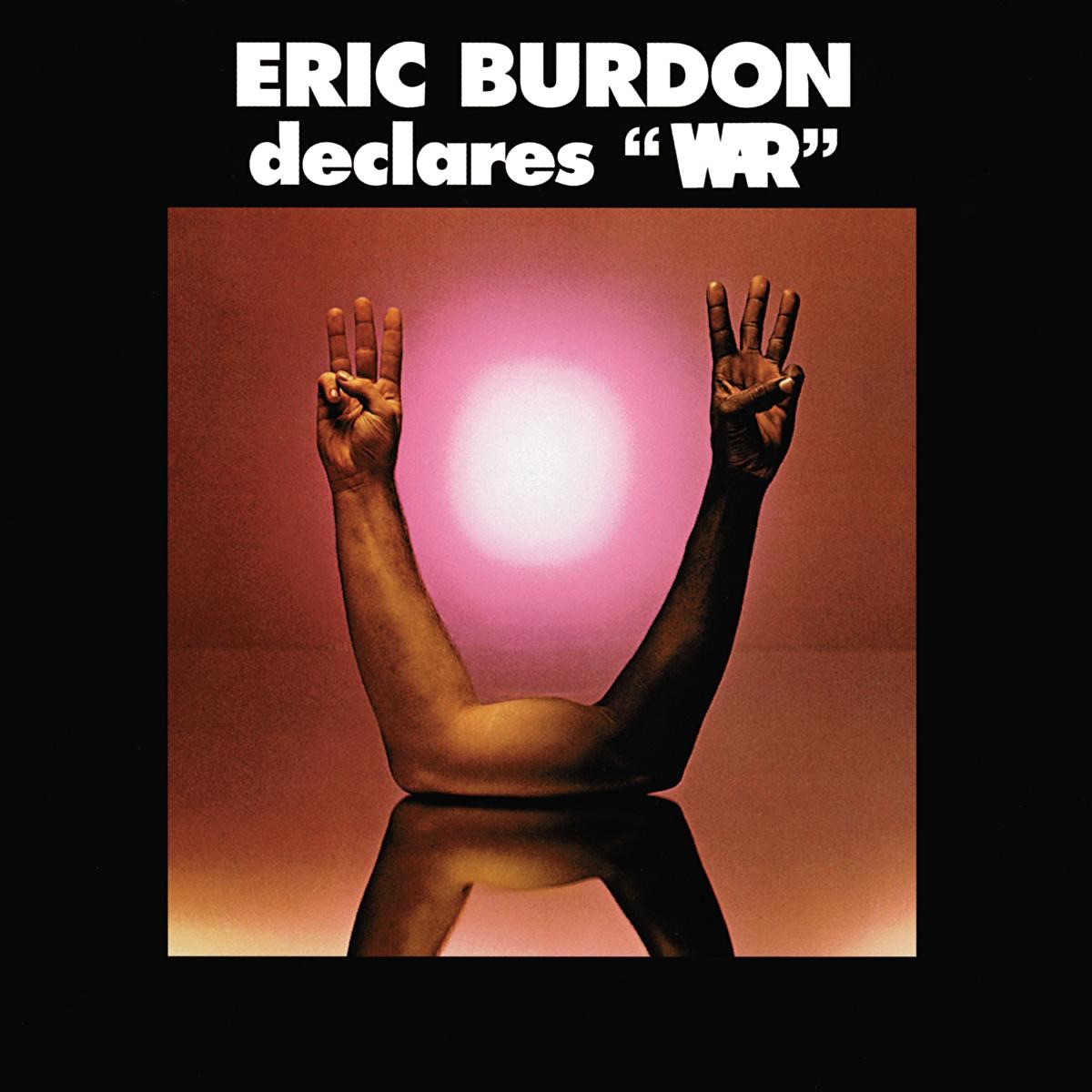 Eric Burdon Declares War Eric Burdon  War CD cover