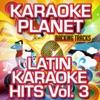 Latin Karaoke Hits, Vol. 3 (Karaoke Version) ジャケット写真