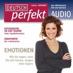 Deutsch perfekt Audio. 12/2012: Deutsch lernen Audio - Grammatik Spezial. Das Passiv