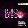 Burn the Disco Remixes feat will i am Single