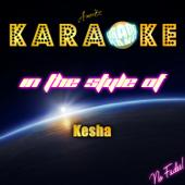 Karaoke (In the Style of Kesha) - EP