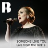 Someone Like You (Live from the BRITs) - Single ジャケット写真
