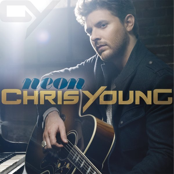 neon chris young cd cover