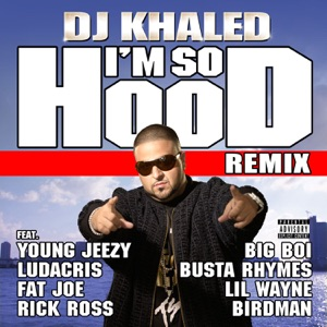 DJ Khaled - I'm So Hood feat. Young Jeezy, Ludacris, Busta Rhymes, Big Boi, Lil Wayne, Fat Joe, Birdman & Rick Ross [Remix]