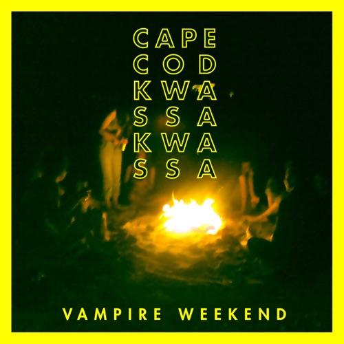 Vampire Weekend - Cape Cod Kwassa Kwassa - Single