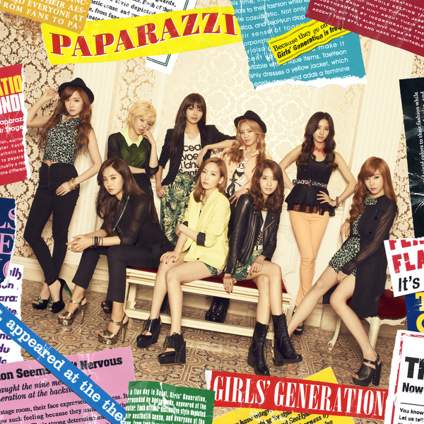 Image result for girls generation paparazzi itunes