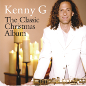 the classic christmas album kenny g cover art