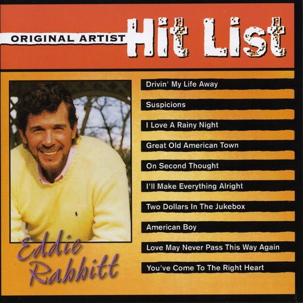 Eddie Rabbit - I Love A Rainy Night