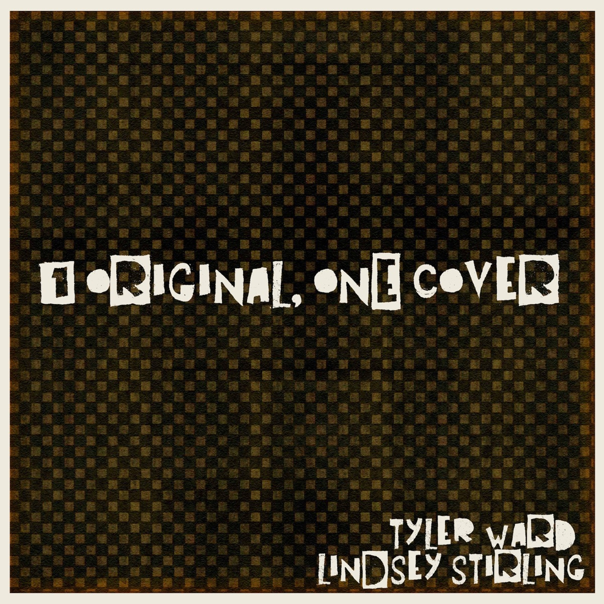 1 Original ONE Cover - Single Tyler Ward  Lindsey Stirling CD cover