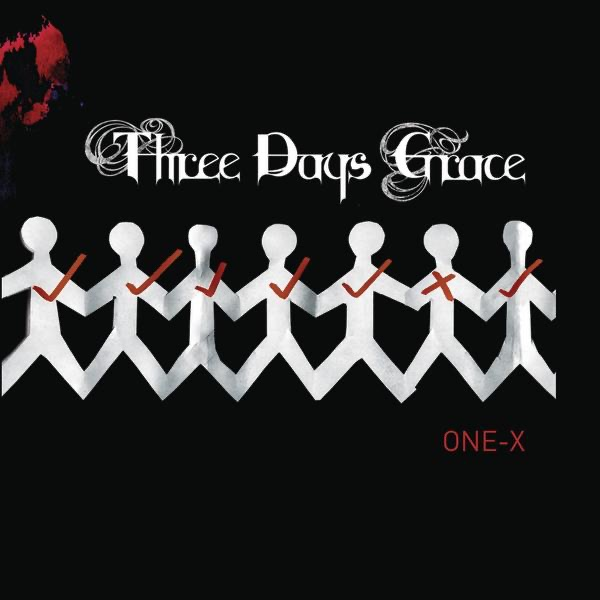 One-X Deluxe Version Three Days Grace CD cover