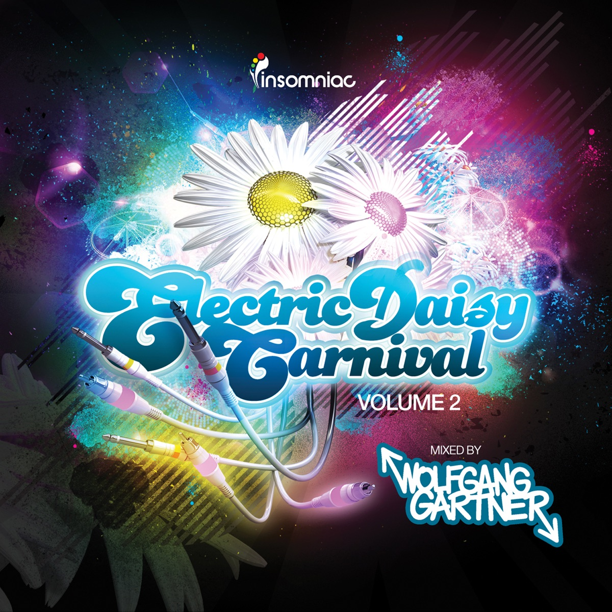 Electric Daisy Carnival Vol 2 Mixed By Wolfgang Gartner Wolfgang Gartner CD cover