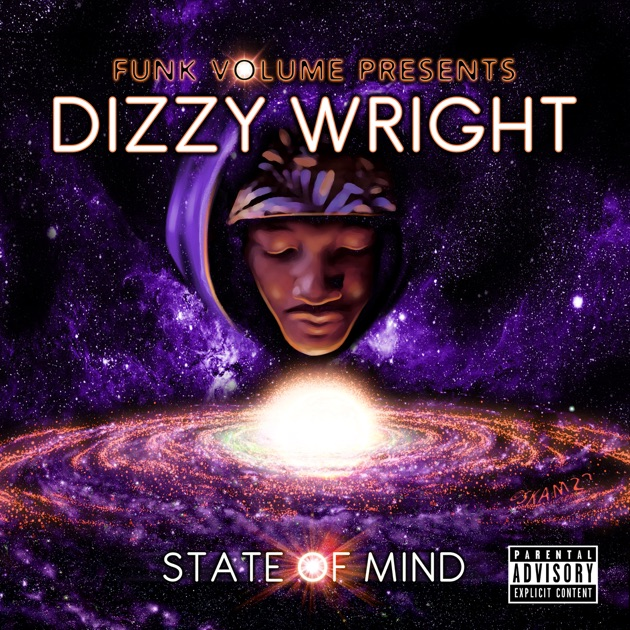 """Dizzy wright """"state of mind"""" release date, cover art, tracklist."""
