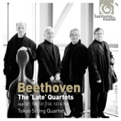 "Tokyo String Quartet - Fugue for string quartet in B-flat major ""Grosse Fuge"", Op. 133"