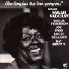 How Long Has This Been Going On?, Sarah Vaughan