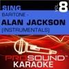 Sing Baritone Alan Jackson Vol 8 Karaoke Performance Tracks