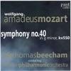 Mozart: Symphony No. 40, London Philharmonic Orchestra & Sir Thomas Beecham