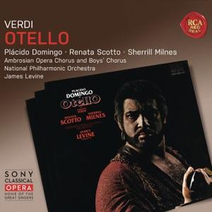 James Levine, National Philharmonic Orchestra, Sherrill Milnes, Frank Little & Plácido Domingo - Otello, Act III: Vieni, l'aula è deserta