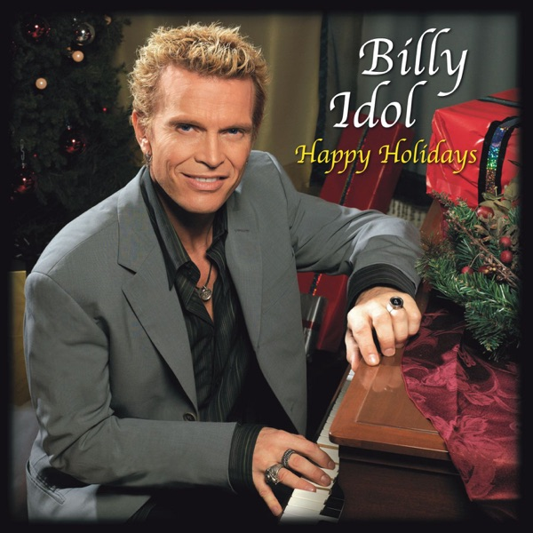 Billy Idol mit Frosty the Snowman