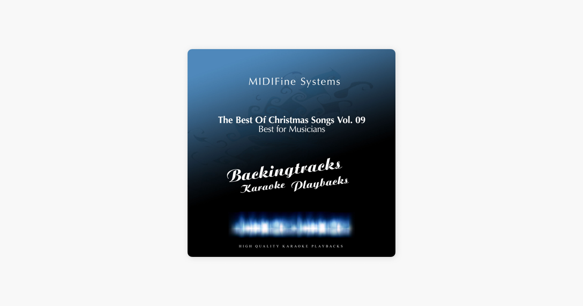 Best Christmas Songs Vol. 09 (Karaoke Version) by MIDIFine Systems ...