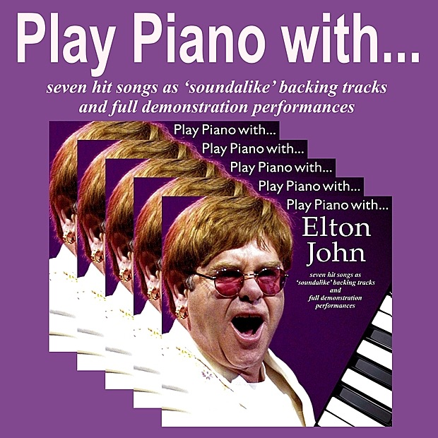 Play Piano With the Music of Elton John The Backing Tracks CD cover