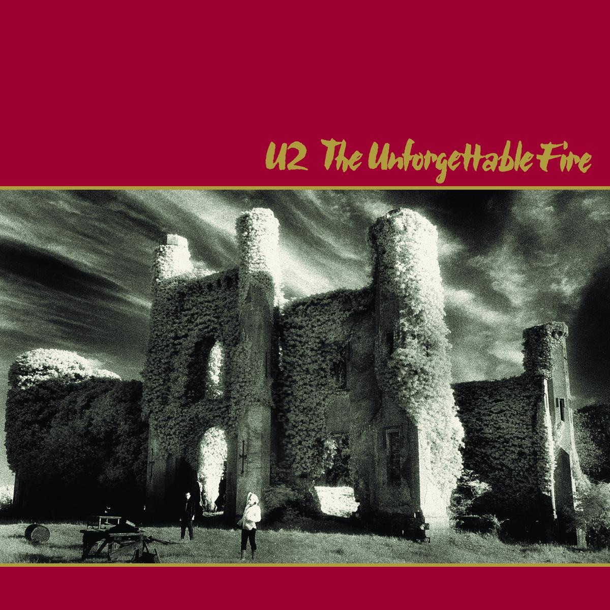 The Unforgettable Fire Remastered Deluxe Version U2 CD cover