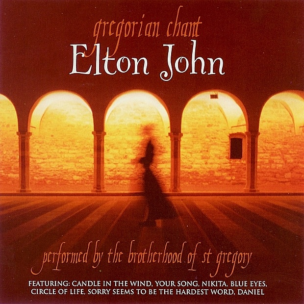 Gregorian Chant - Elton John The Brotherhood of St Gregory CD cover