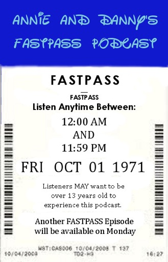 Cover image of Annie and Danny's FastPass Podcast