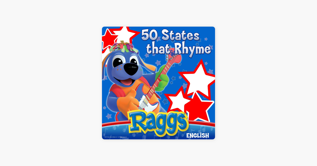 50 States That Rhyme English Single By Raggs On Apple Music