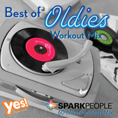 SparkPeople: Best of Oldies Workout Mix (60-Min Non-Stop Mix @ 132 BPM)