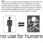 No Use for Humans