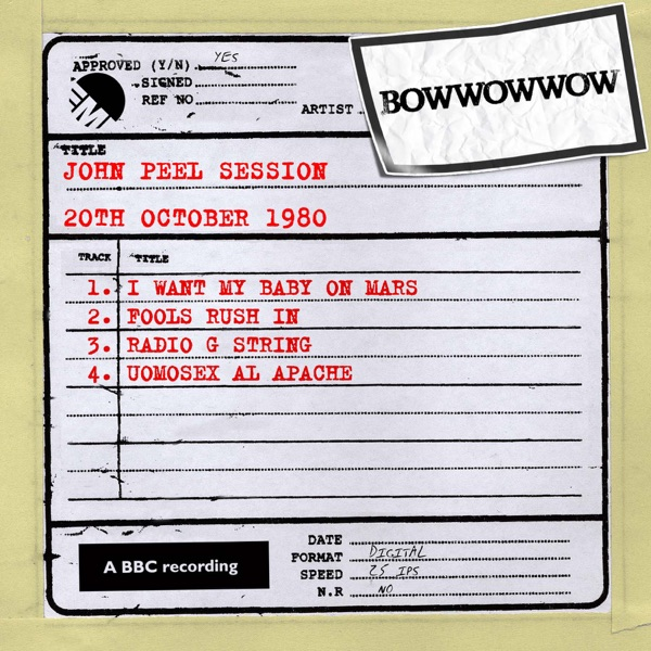 John Peel Session (20th October 1980) - EP
