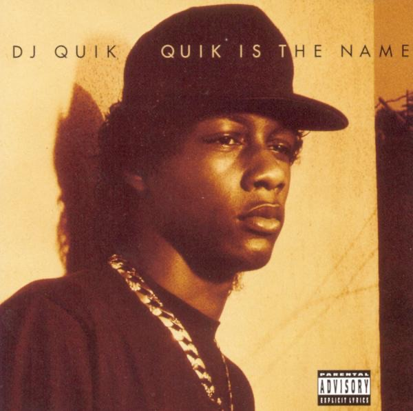 Quik Is the Name DJ Quik CD cover