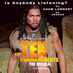 "Adam Lambert - Is Anybody Listening? (From ""The Ten Commandments"") [Live]"