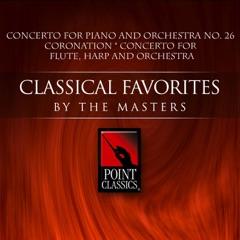 "Mozart: Concerto for Piano and Orchestra No. 26 ""Coronation"" & Concerto for Flute, Harp and Orchestra"