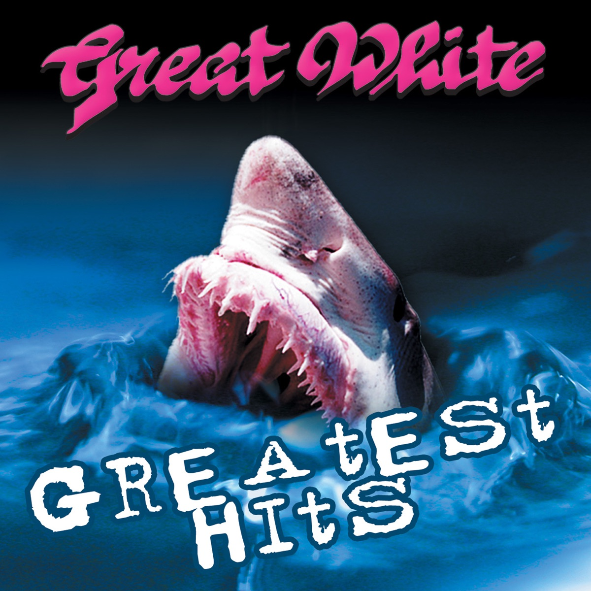 Greatest Hits Album Cover by Great White