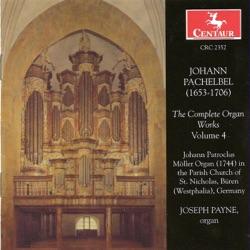 Album: Pachelbel J Organ Music Complete Vol 4 by Joseph