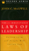 John C. Maxwell - The 21 Irrefutable Laws of Leadership (Abridged Nonfiction) artwork