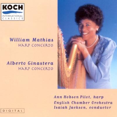 Mathias: Harp Concerto; Ginastera: Harp Concerto - Alberto Ginastera