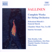 Complete Works for String Orchestra: Sunrise Serenade, Op. 63 - for Two Trumpets, Piano and String Orchestra