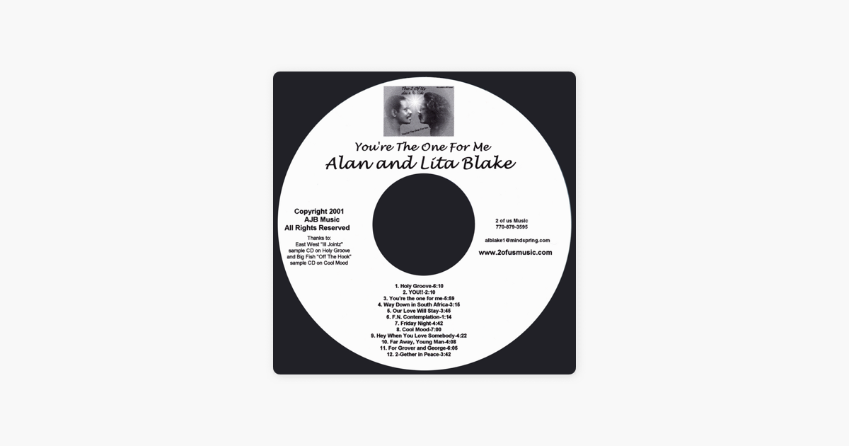 alan and lita blakeの you re the one for me をapple musicで