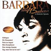 Barbara singt Barbara (in deutscher Sprache)
