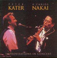 Peter Kater & R. Carlos Nakai - Improvisations In Concert (Live) artwork