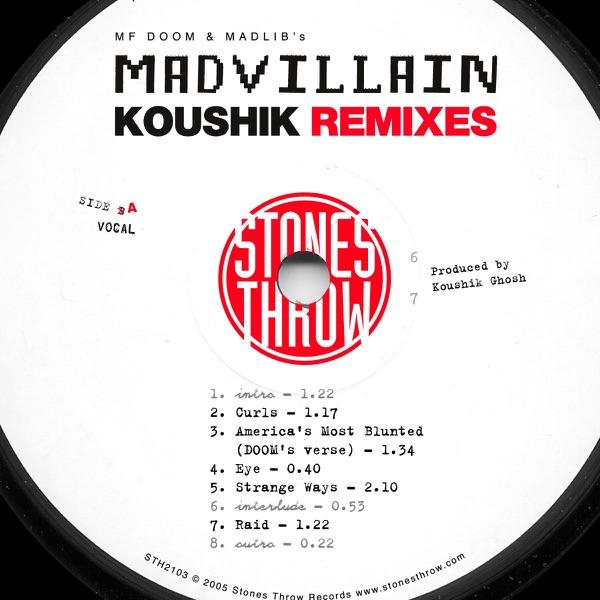 madvillain four tet remixes vinyl