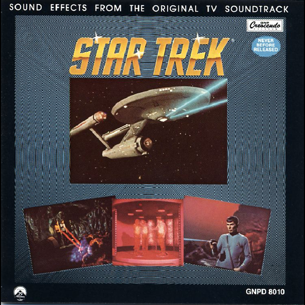 Star Trek Sound Effects (From the Original TV Soundtrack) by Douglas  Grindstaff, Jack Finlay & Joseph Sorokin