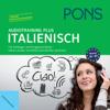 Div. - PONS Audiotraining Plus - Italienisch. Für Anfänger und Fortgeschrittene artwork