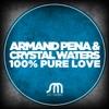 100% Pure Love - Single ジャケット写真