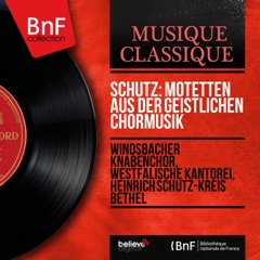 Schütz: Motetten aus der Geistlichen Chormusik (Mono Version) - EP